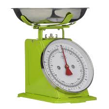 premier housewares 5 kg retro kitchen scale lime green amazon