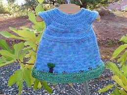 ravelry garden party baby dress pattern by taiga hilliard designs