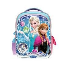 disney princess frozen bag blue purple colour