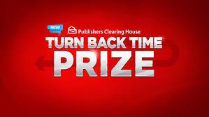 pch fan page facebook pch turn back time prize
