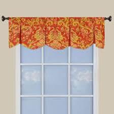 Kitchen Valance Curtains by Yacht Club Stripe Crimson Chatham Valance Waverly Waverly