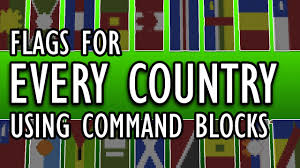 Taiwan Country Flag Every Country U0027s Flag Setblock Banners In Minecraft Youtube