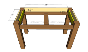 Diy Desk Plans Diy Desk Plans Howtospecialist How To Build Step By Step Diy