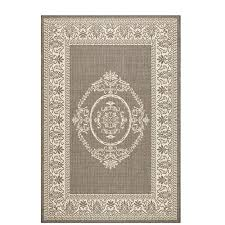 Home Decorators Outdoor Rugs Home Decorators Collection Antique Medallion Grey Chagne 5 Ft