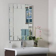 bathroom framed wall mirrors art deco bathroom mirror large