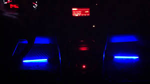 Lights For Car Interior Car Interior Sound Activated Neon Lights Youtube