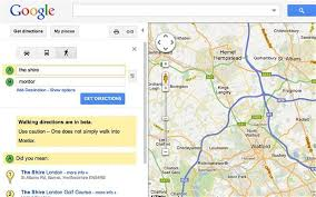 g00gle map hobbit humour maps offers mordor warning telegraph