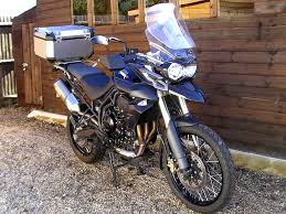 sold triumph tiger 800 xc abs 5000 miles arrow exhaust givi