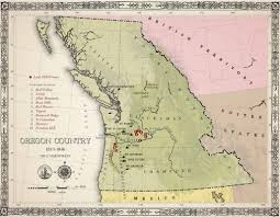 Oregon Wine Country Map by Lady Hill Winery Lady Hill Winery