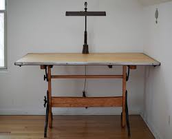 Iron Drafting Table Restored Antique Drafting Table Cast Iron Base In West Town Cook