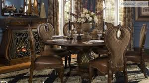 Aico Dining Room Furniture The Sovereign Round Dining Room Collection From Aico Furniture