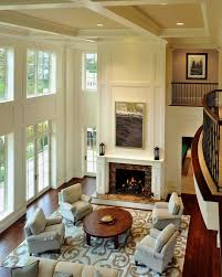 Best TwoStory Family Room Images On Pinterest Living Room - Two story family room