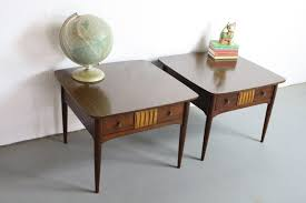 Coffee Table Sale by Must Have Pair Of 2 Mid Century Modern End Tables Sale U2013 Abt Modern