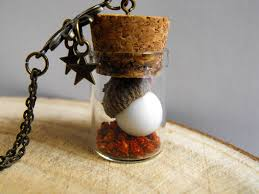 romantic terrarium vial necklace vial jewelry nature inspired