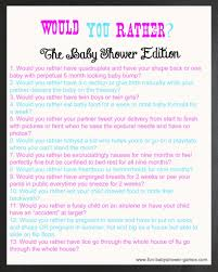fantastic baby shower trivia game questions and answers on baby