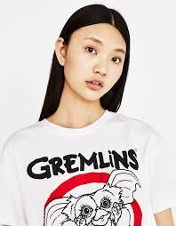 bershka si e social camiseta con algodón orgánico gremlins camisetas bershka españa