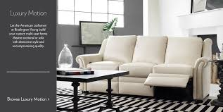 Sofa Makers In Usa Luxurious Leather Furniture Bradington Young