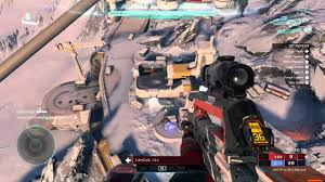 Warzone Maps Halo 5 Guardians Glitching Out Of Stormbreak Map In Warzone Youtube