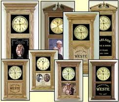 personalized anniversary clock personalized wedding clocks etched anniversary clocks etched