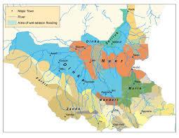 Sudan Africa Map by South Sudan Rebellion Maps The December 2013 Rebellion In 6
