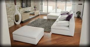 Gray Sofa Decor Flooring Nice White Sectional Sofa With Ikea Ottoman And Gray