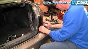 nissan sentra you re the man commercial how to install replace taillight and bulb nissan sentra 02 06