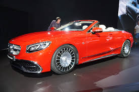 mercedes maybach 2016 mercedes maybach s650 cabriolet video preview