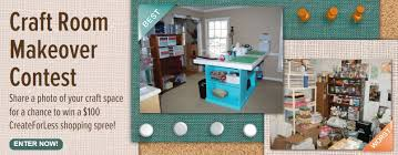 Craft Room Makeovers - craft room makeover contest think crafts by createforless