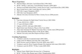 Soccer Coach Resume Samples by Sample Soccer Coach Resume Example Resume Exampl Soccer Coach