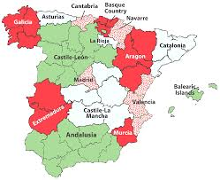 Catalonia Spain Map by Map Of Spain And Neighboring Countries Evenakliyat Biz