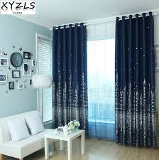 Star Blinds Xyzls Outlet 3d Castle And Star Blinds Blackout Curtains Tulle