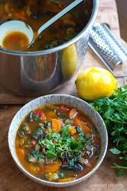 quick u0026 easy italian farmhouse vegetable soup instant pot recipe