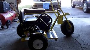 baja bug build mini bike baja doodle bug side car more detail for build youtube