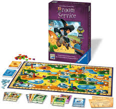 amazon com broom service strategy game toys u0026 games