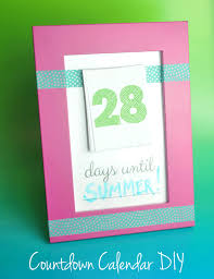 make your own countdown calendar and notepad club chica circle