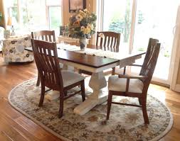 white painted with glaze pedestal table set amish direct furniture customer s white painted table with glaze amish direct furniture