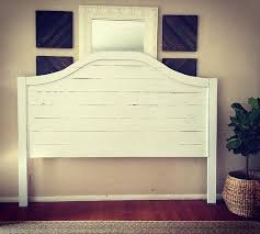 White Wooden Headboard White Wood Headboards Iemg Info