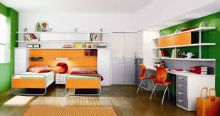Kids Built In Desk by Bedroom Decor Built In Desk Ideas For Bedroom Wall