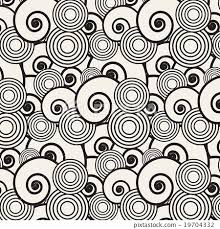 japanese pattern black and white abstract background seamless japanese pattern stock illustration