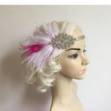gatsby headband aliexpress buy fashion handmade fancy dress fascinator pink