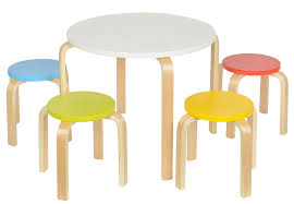 Kids Table And Stools In Customizable Colors Prd Furniture
