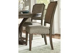 Wood Dining Room Chair Larrenton Dining Room Chair Ashley Furniture Homestore