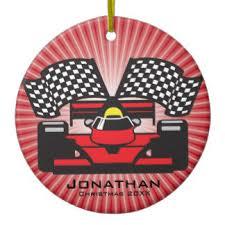 race car ornaments keepsake ornaments zazzle