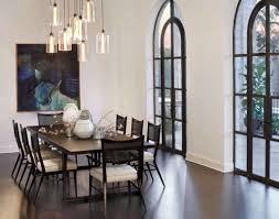 contemporary dining light fixtures contemporary dining room decorated with abstract wall painting art