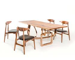 walnut solid wood dining table vg420 modern dining