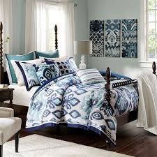 seaglass ikat 9 10 pc comforter bed set from madison park signature