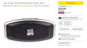 android bluetooth speaker deal alert altec lansing porta bluetooth speaker is just 39 99