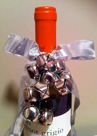 wine bottle bow a party style in july wine bottle wrapping