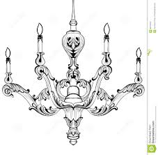 Classic Chandelier by Vintage Baroque Elegant Chandelier Vector Luxury Royal Rich Style