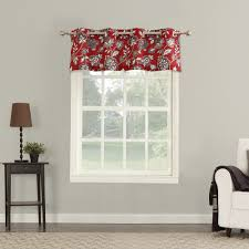 big one ani floral window valance